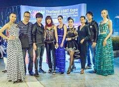"""ดีไซเนอร์ระดับโลก""""ไก่ อูกัส""""รวมพลทั้งนางแบบสาวแท้ สาวเทียม เพศที่ 3 สร้างสีสันงาน LGBT Thailand Expo 2018 ที่ BREEZE CAFÉ & BAR"""